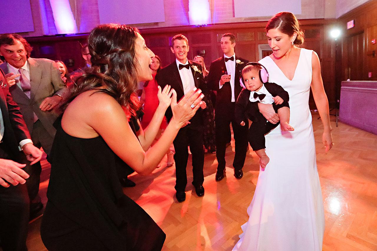 Emily Michael IU Wedding Alumni Hall 314