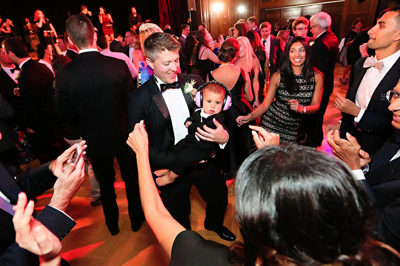 Emily Michael IU Wedding Alumni Hall 311