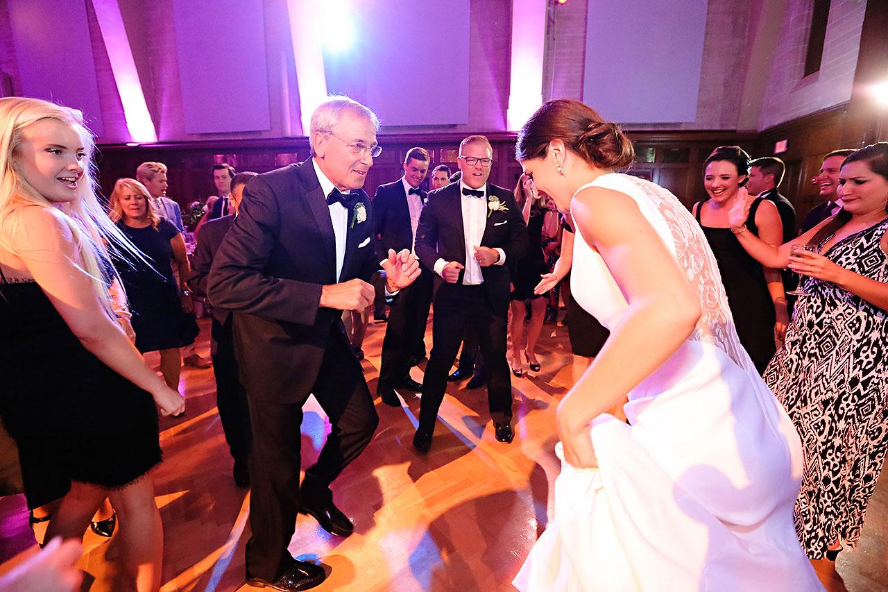 Emily Michael IU Wedding Alumni Hall 308