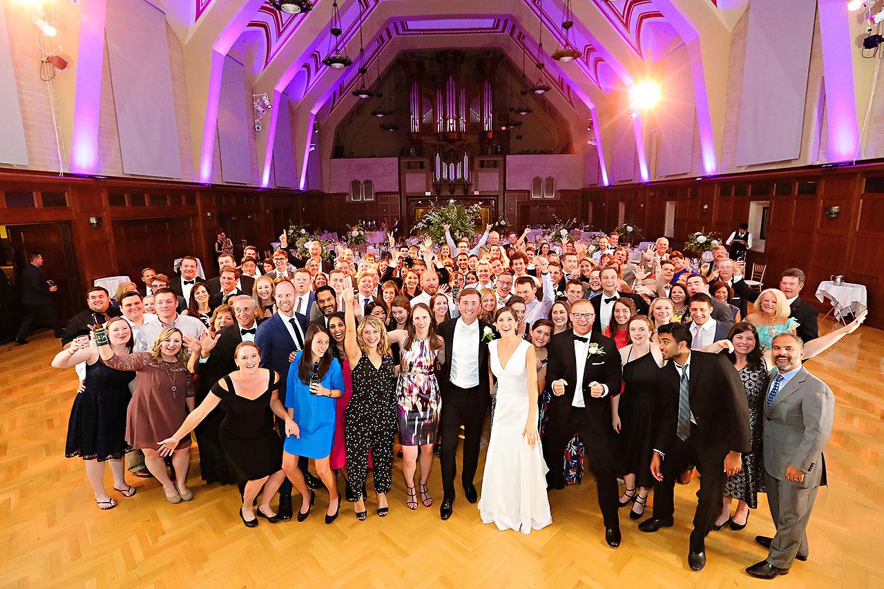 Emily Michael IU Wedding Alumni Hall 309