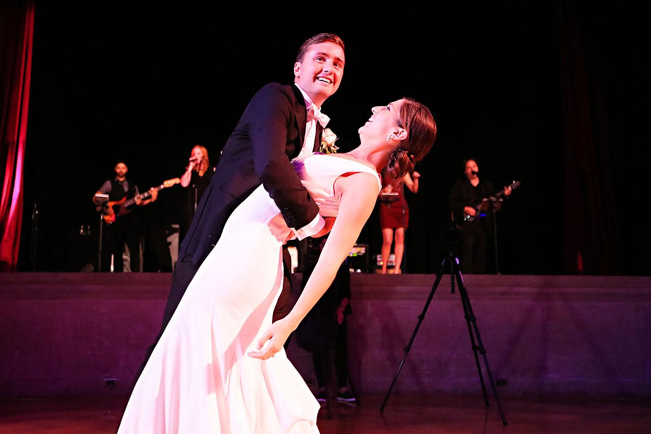 Emily Michael IU Wedding Alumni Hall 303