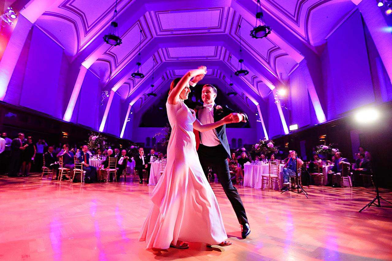 Emily Michael IU Wedding Alumni Hall 299