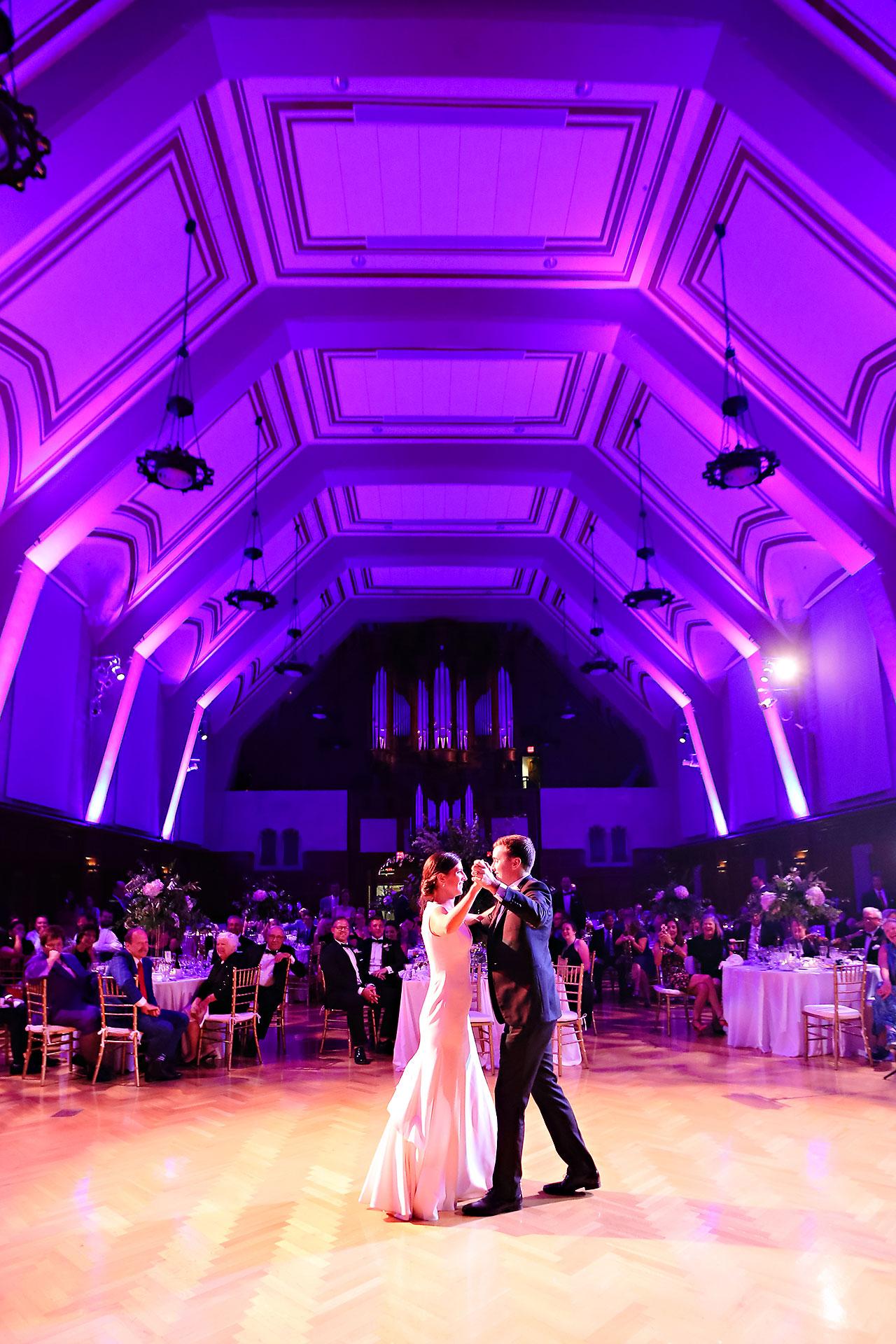 Emily Michael IU Wedding Alumni Hall 296
