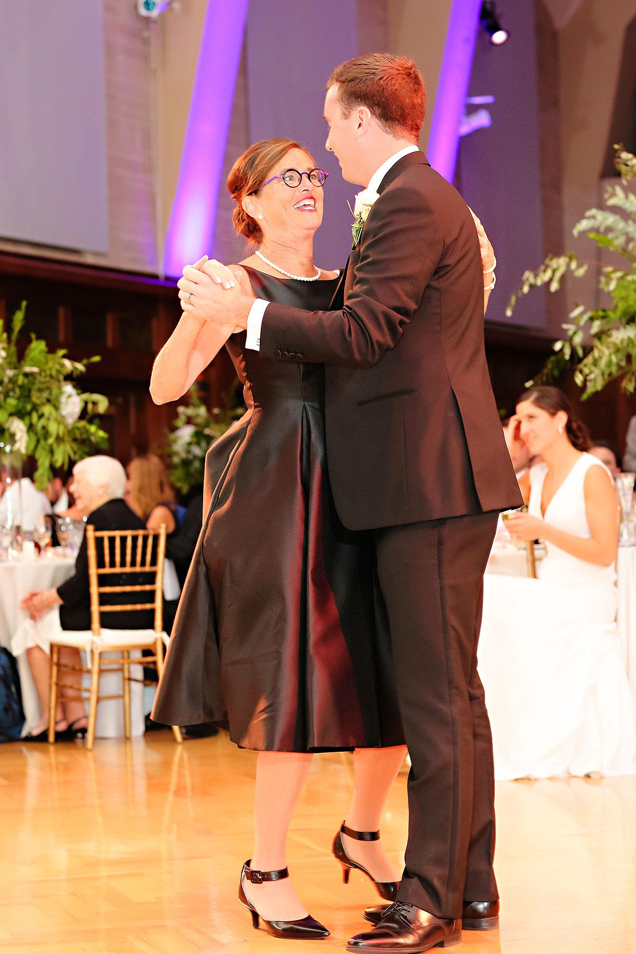 Emily Michael IU Wedding Alumni Hall 292