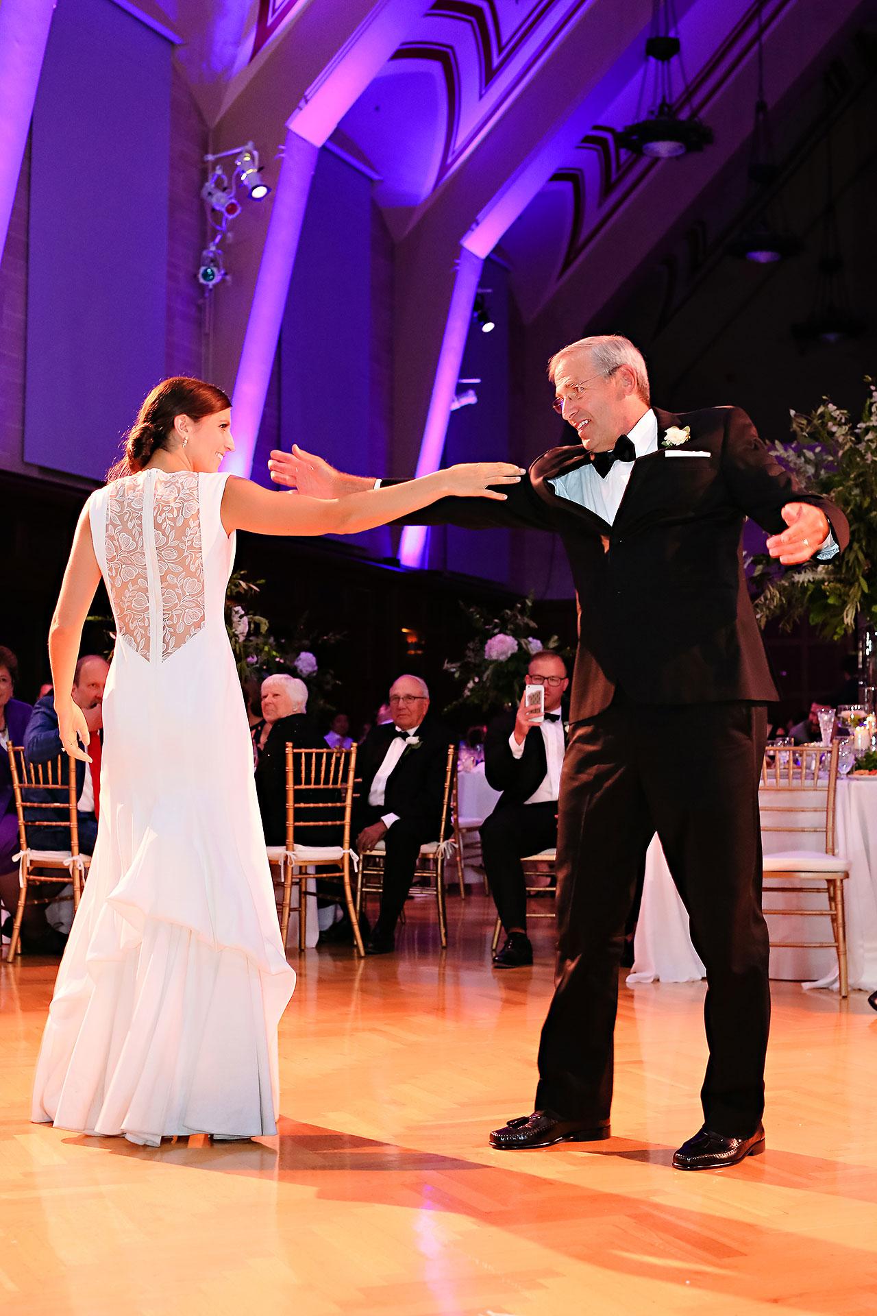 Emily Michael IU Wedding Alumni Hall 288