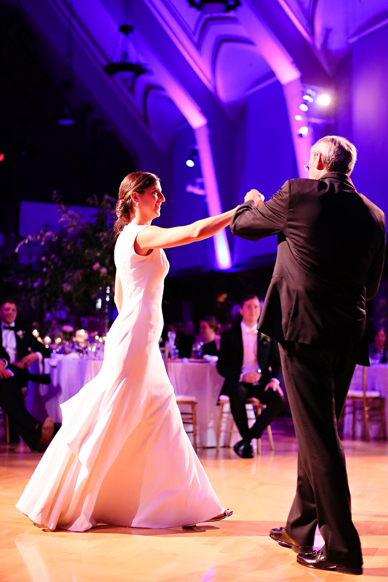 Emily Michael IU Wedding Alumni Hall 286