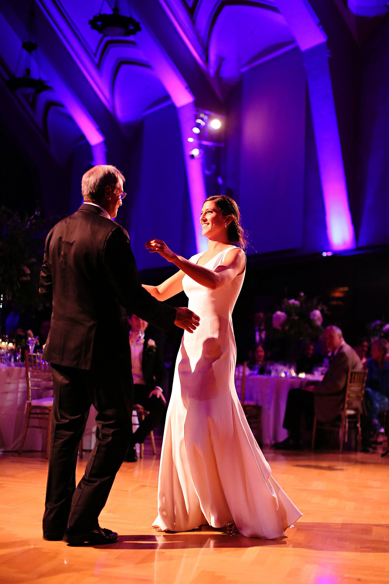 Emily Michael IU Wedding Alumni Hall 287