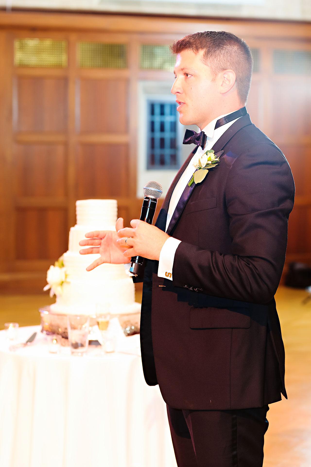 Emily Michael IU Wedding Alumni Hall 282