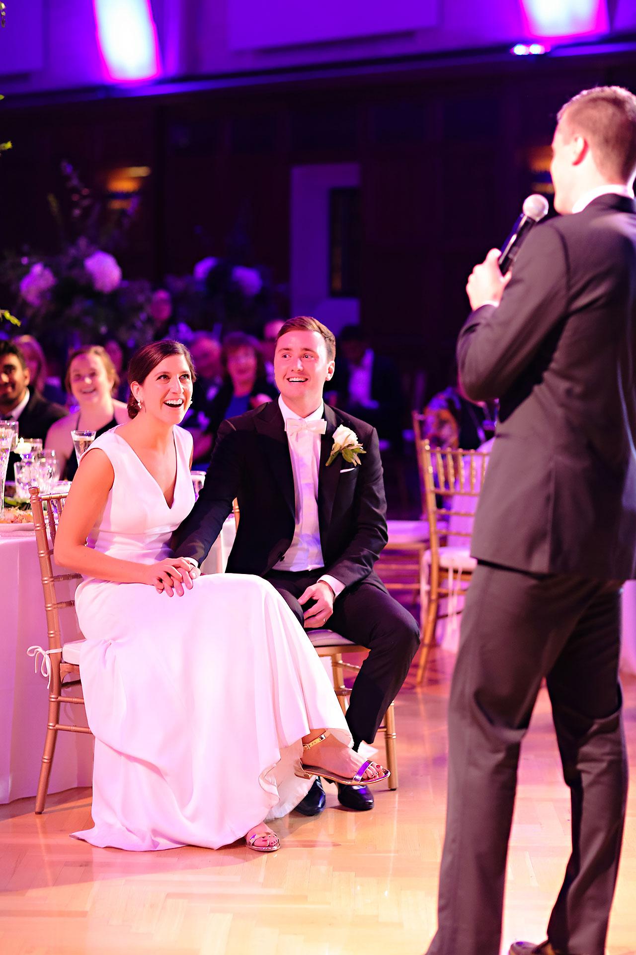 Emily Michael IU Wedding Alumni Hall 275