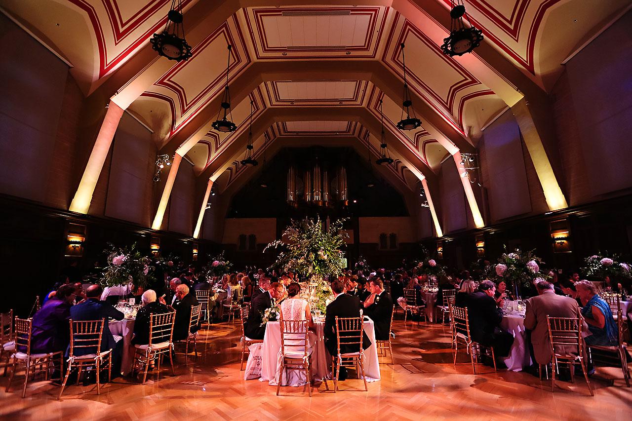 Emily Michael IU Wedding Alumni Hall 273