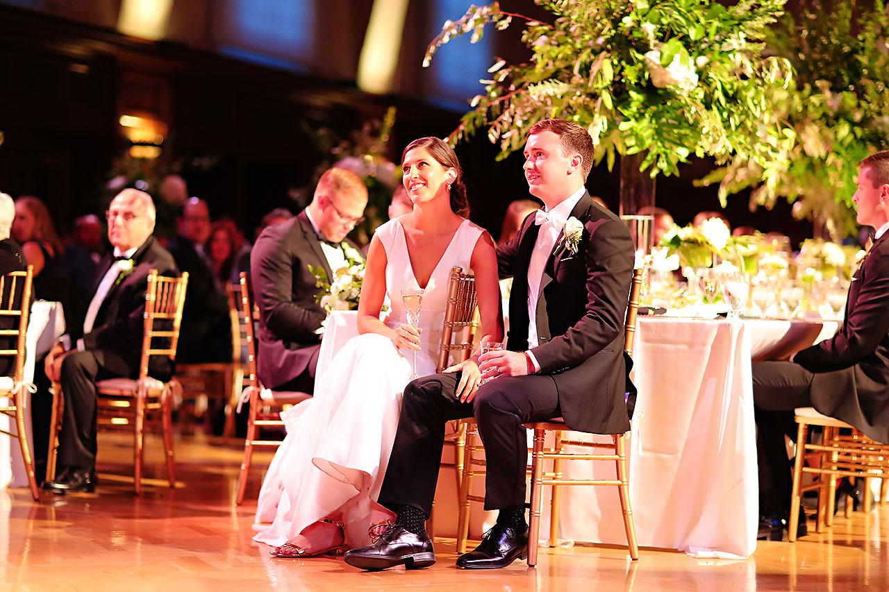 Emily Michael IU Wedding Alumni Hall 268