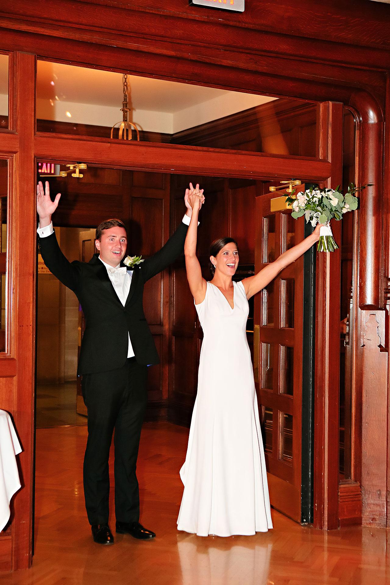 Emily Michael IU Wedding Alumni Hall 265