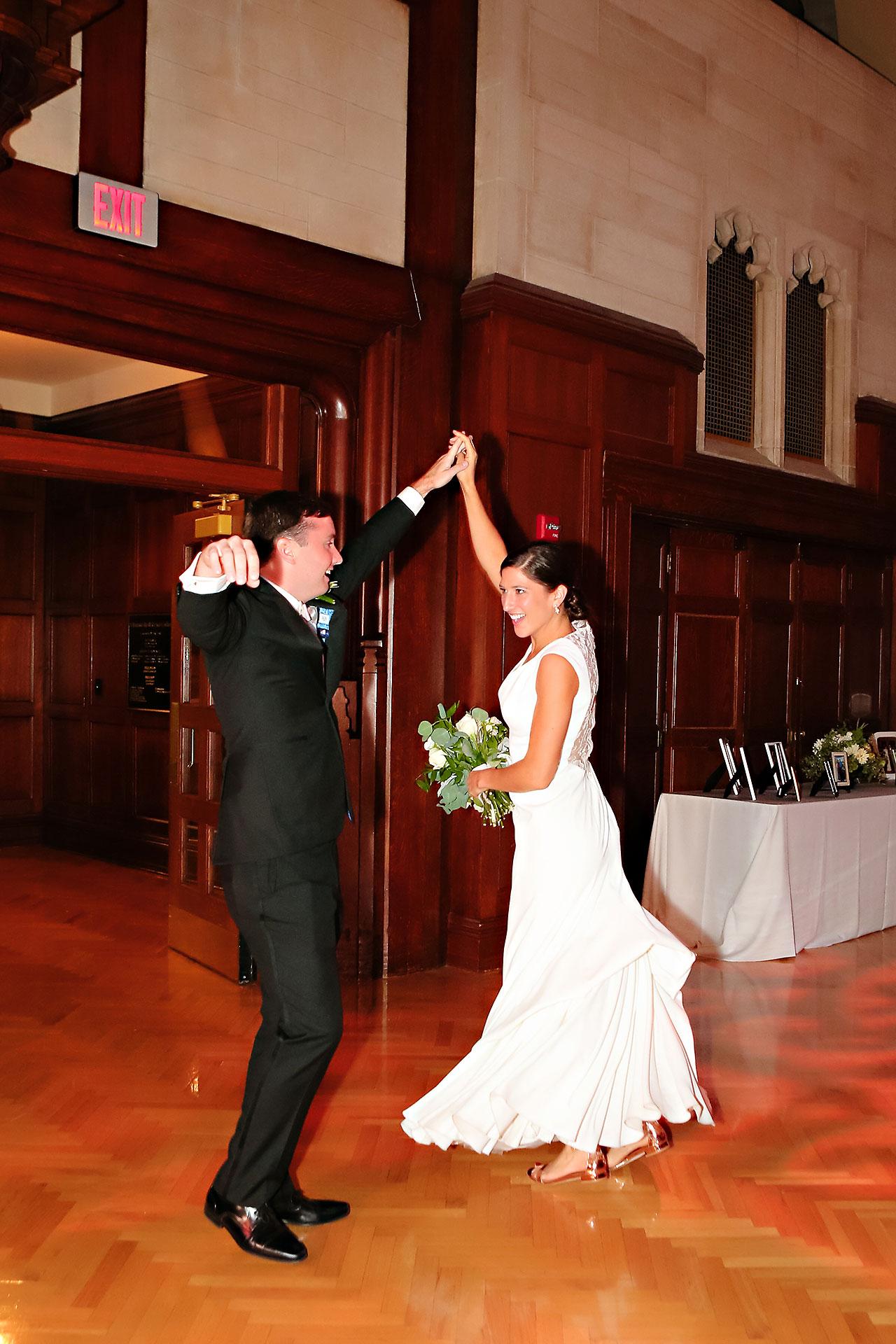 Emily Michael IU Wedding Alumni Hall 266
