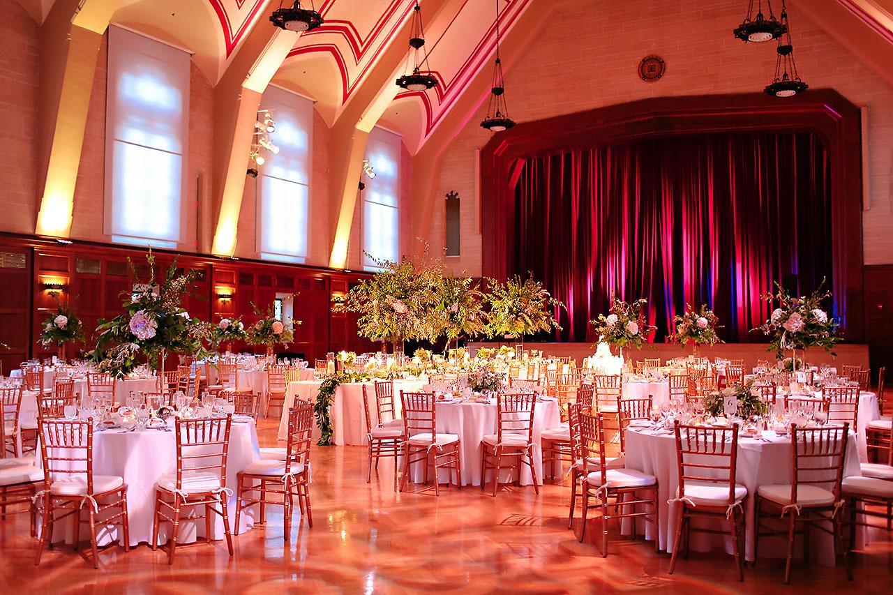 Emily Michael IU Wedding Alumni Hall 259