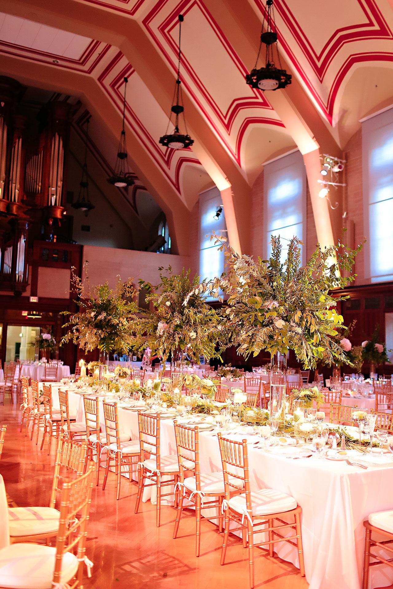 Emily Michael IU Wedding Alumni Hall 257