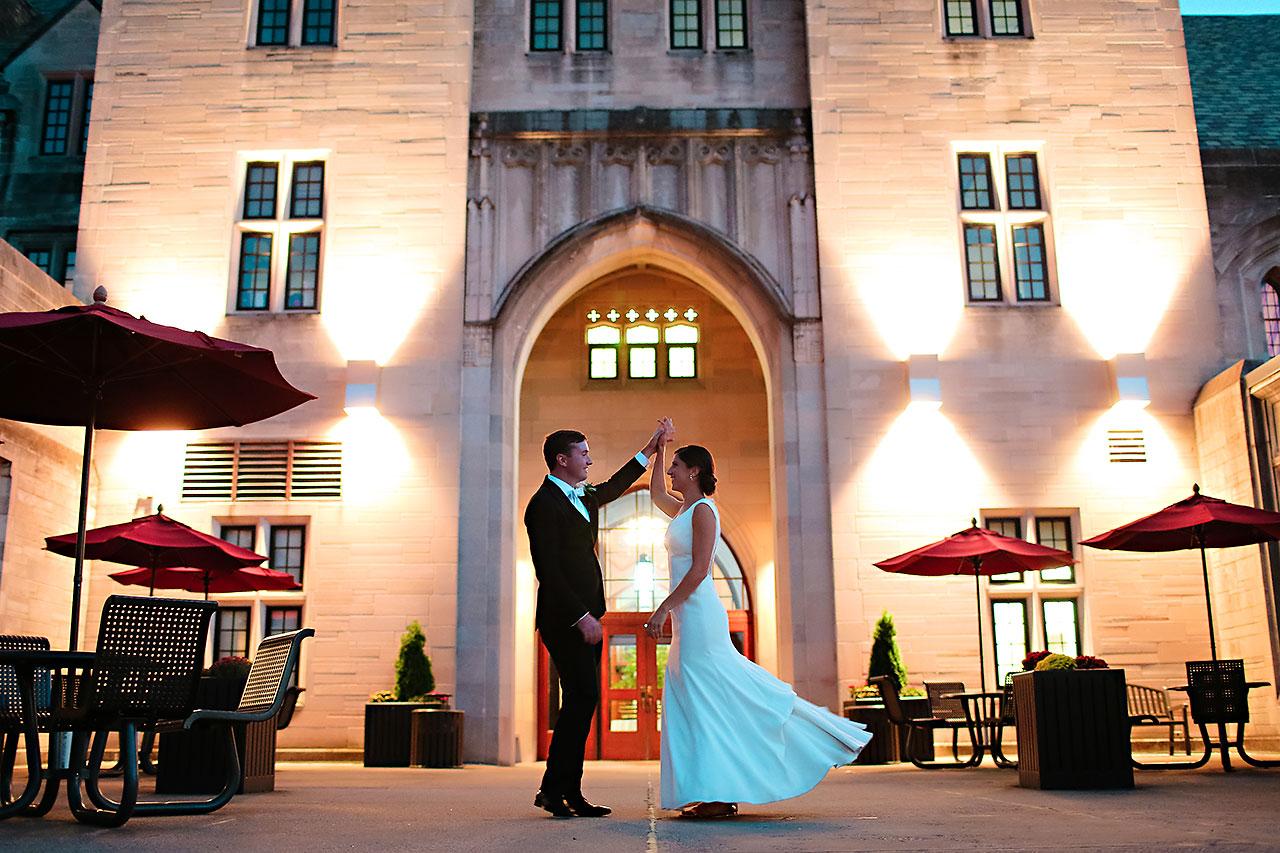 Emily Michael IU Wedding Alumni Hall 246