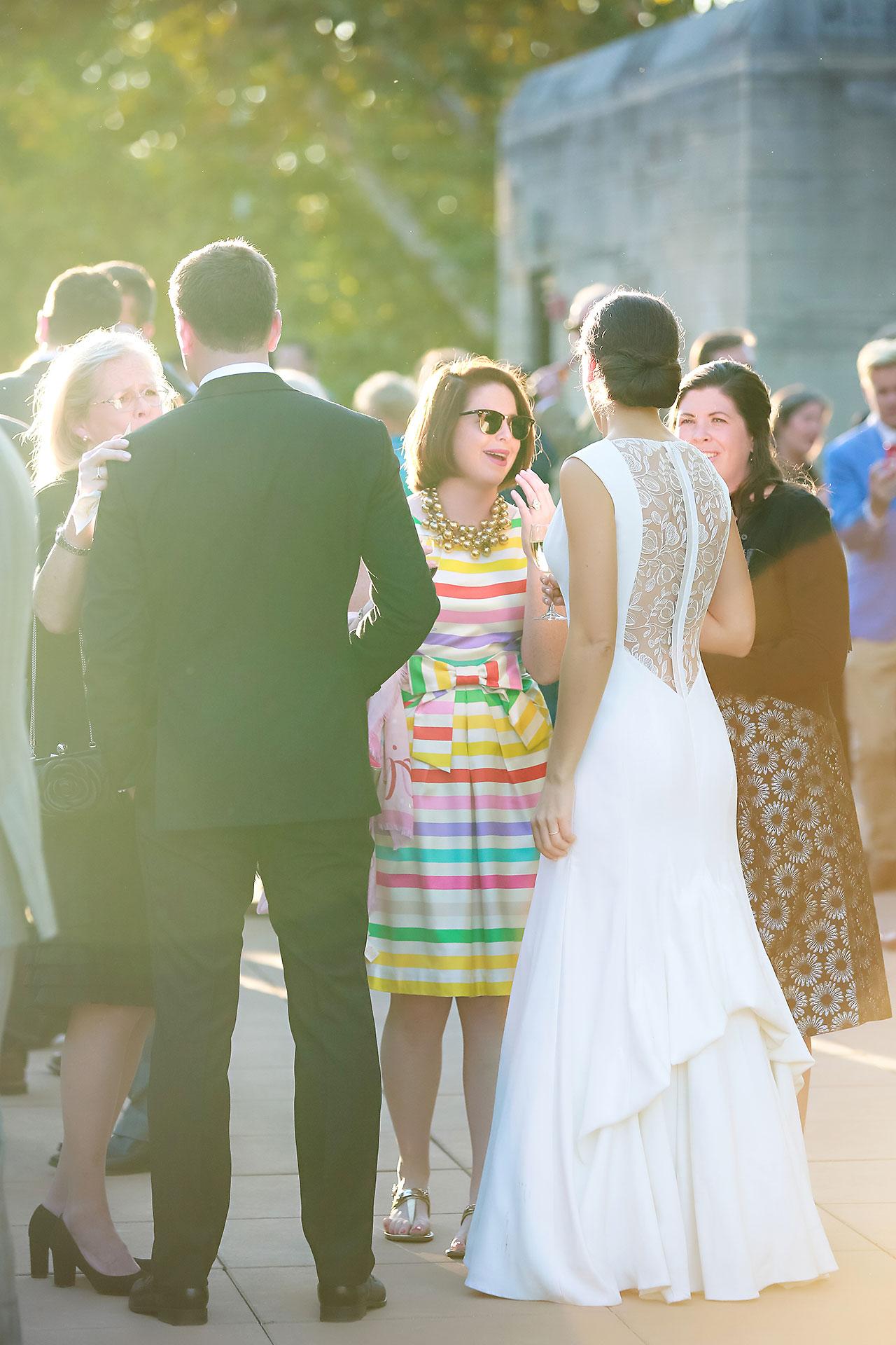 Emily Michael IU Wedding Alumni Hall 217