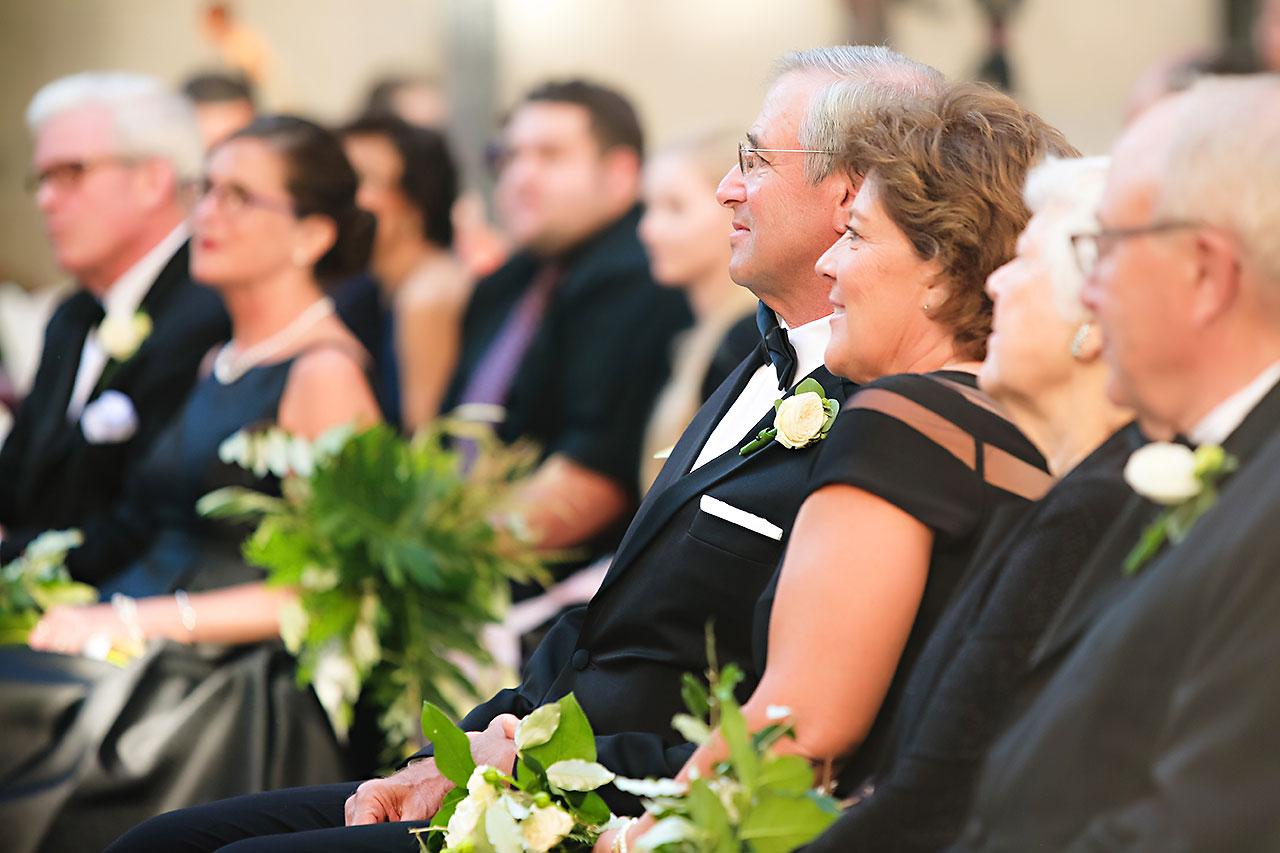 Emily Michael IU Wedding Alumni Hall 207