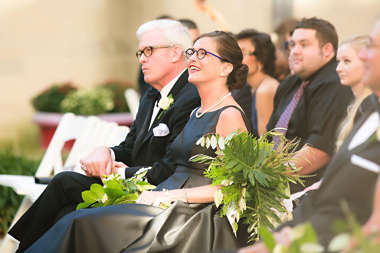 Emily Michael IU Wedding Alumni Hall 209