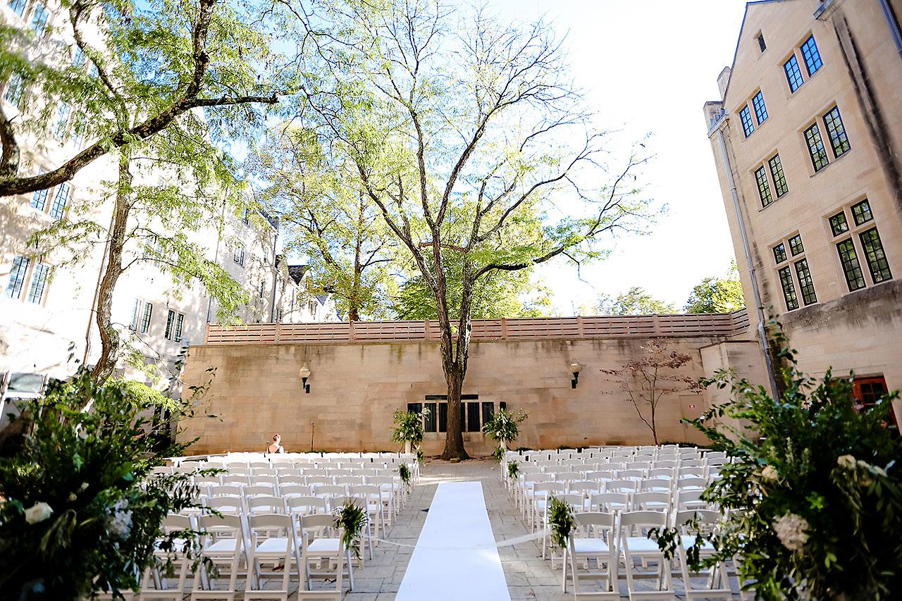 Emily Michael IU Wedding Alumni Hall 195