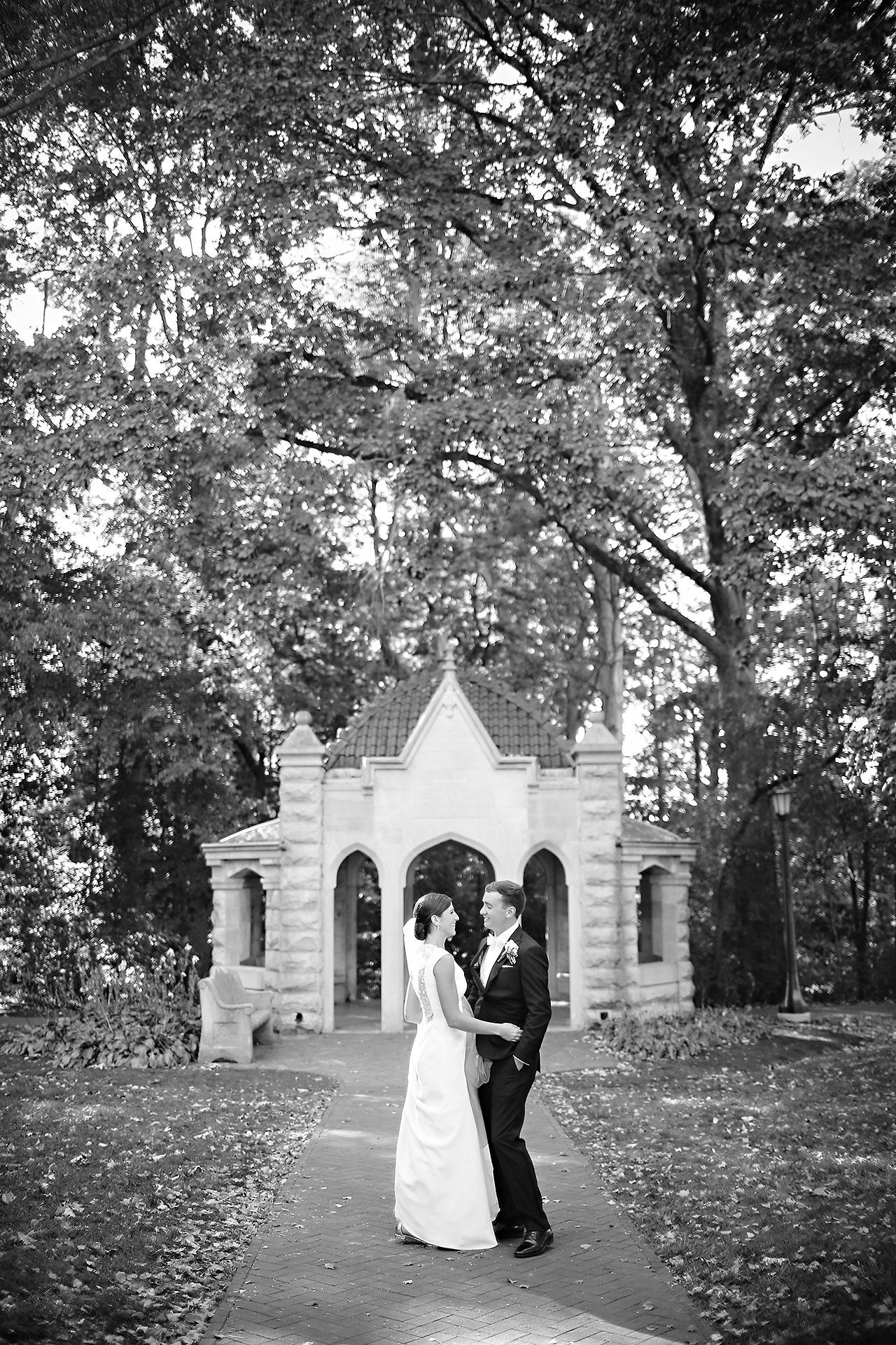 Emily Michael IU Wedding Alumni Hall 189