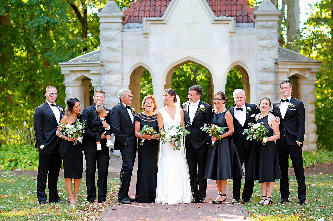 Emily Michael IU Wedding Alumni Hall 184