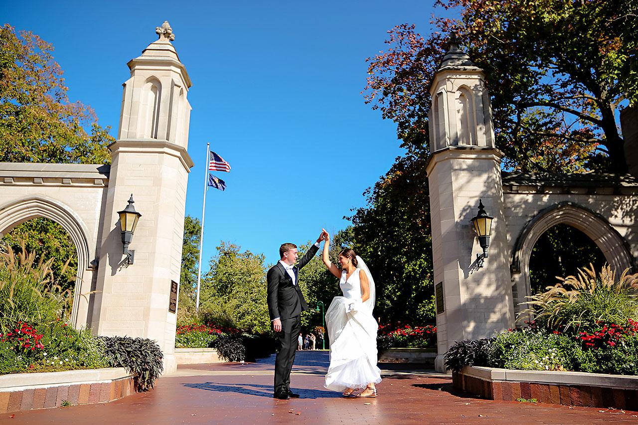 Emily Michael IU Wedding Alumni Hall 181