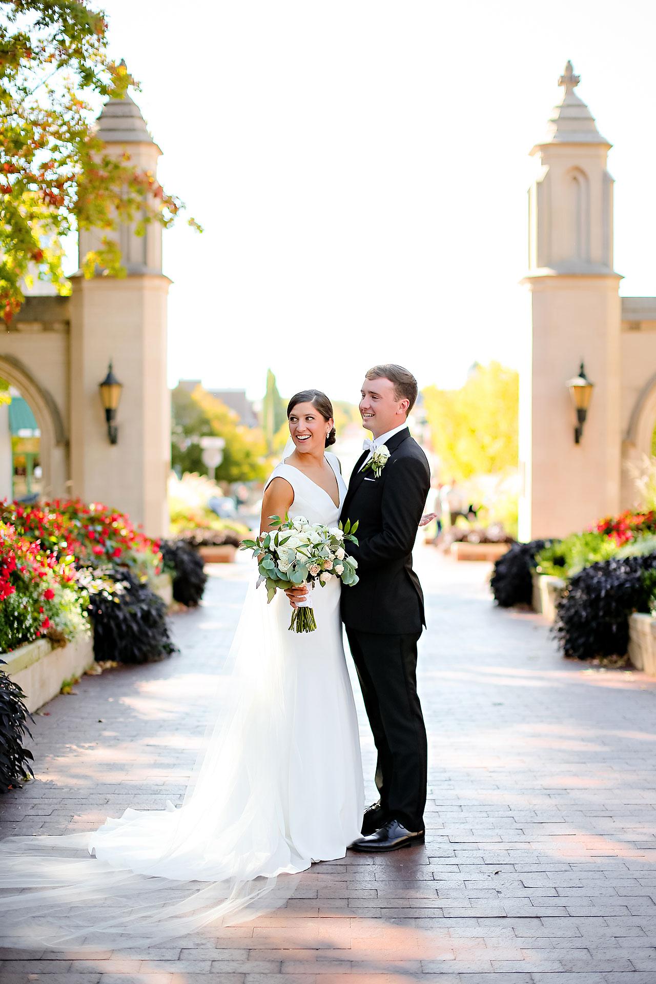 Emily Michael IU Wedding Alumni Hall 178