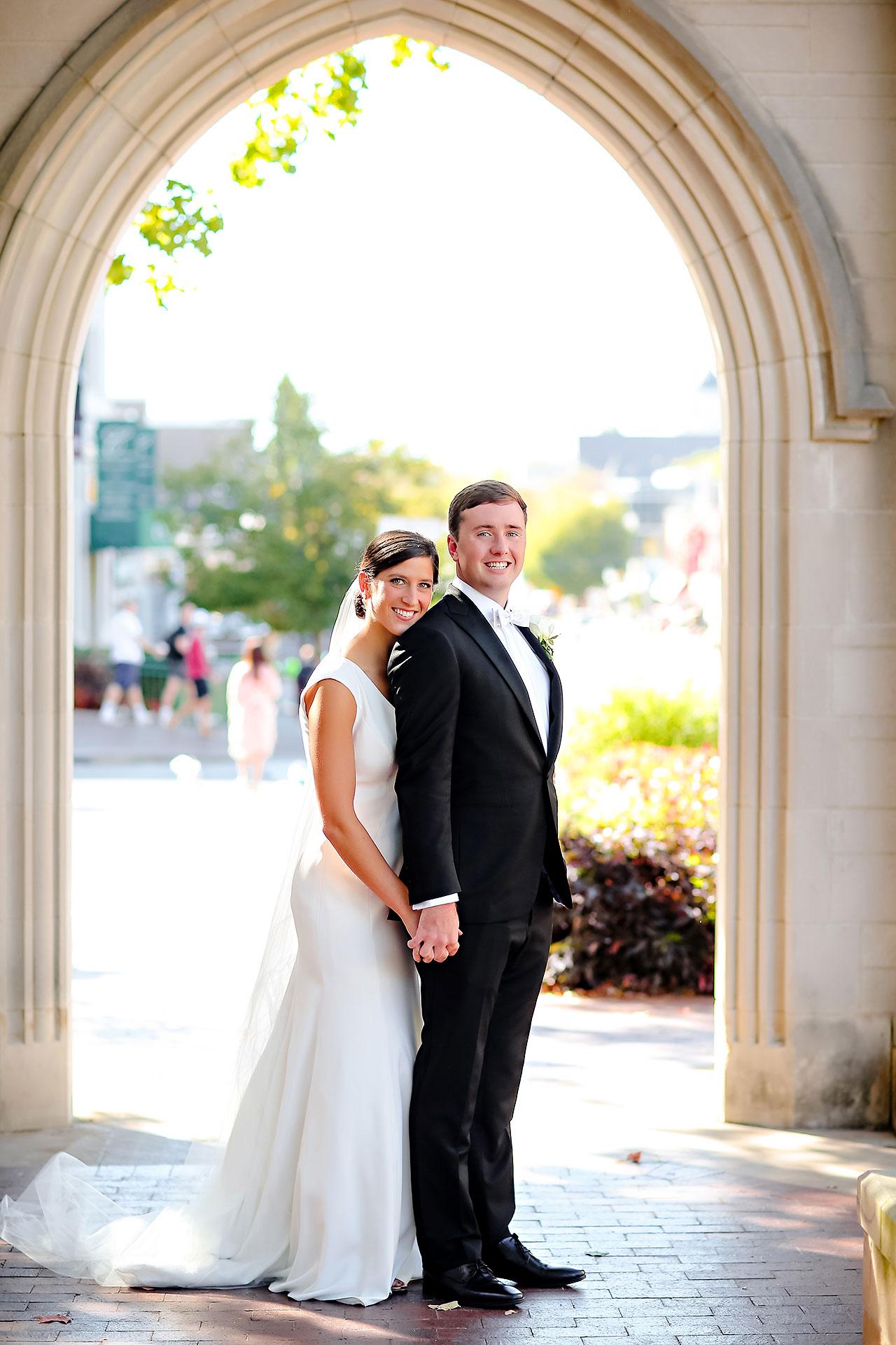 Emily Michael IU Wedding Alumni Hall 170