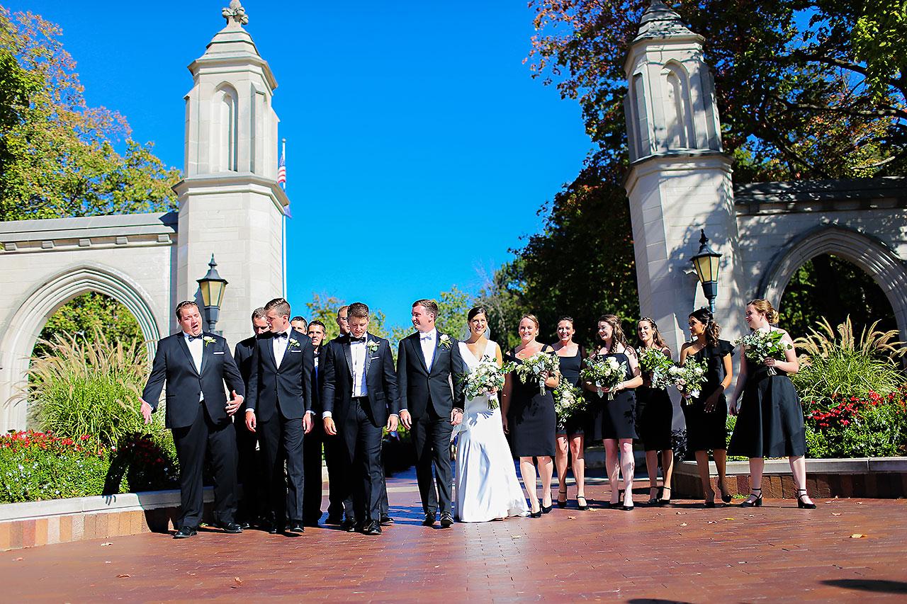 Emily Michael IU Wedding Alumni Hall 166