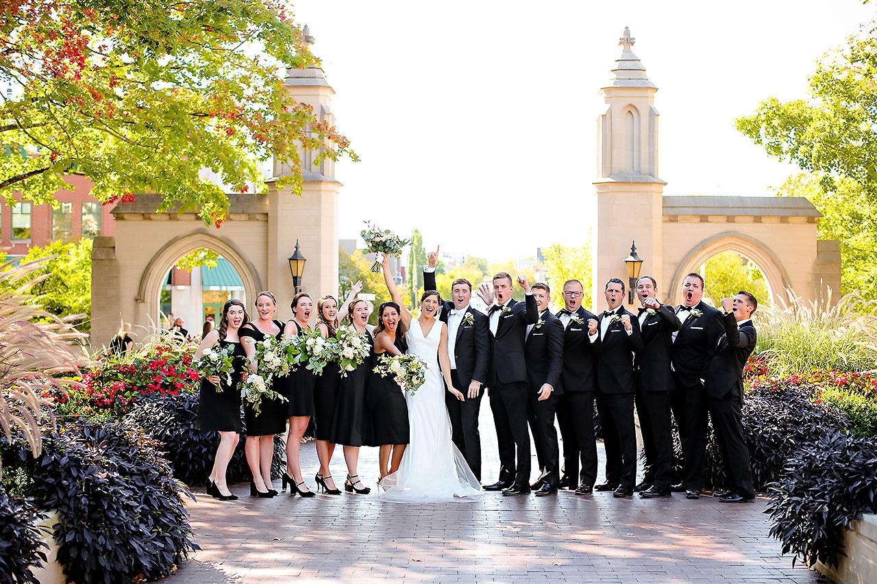 Emily Michael IU Wedding Alumni Hall 163
