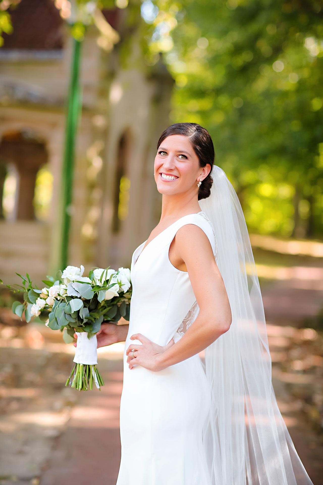 Emily Michael IU Wedding Alumni Hall 162