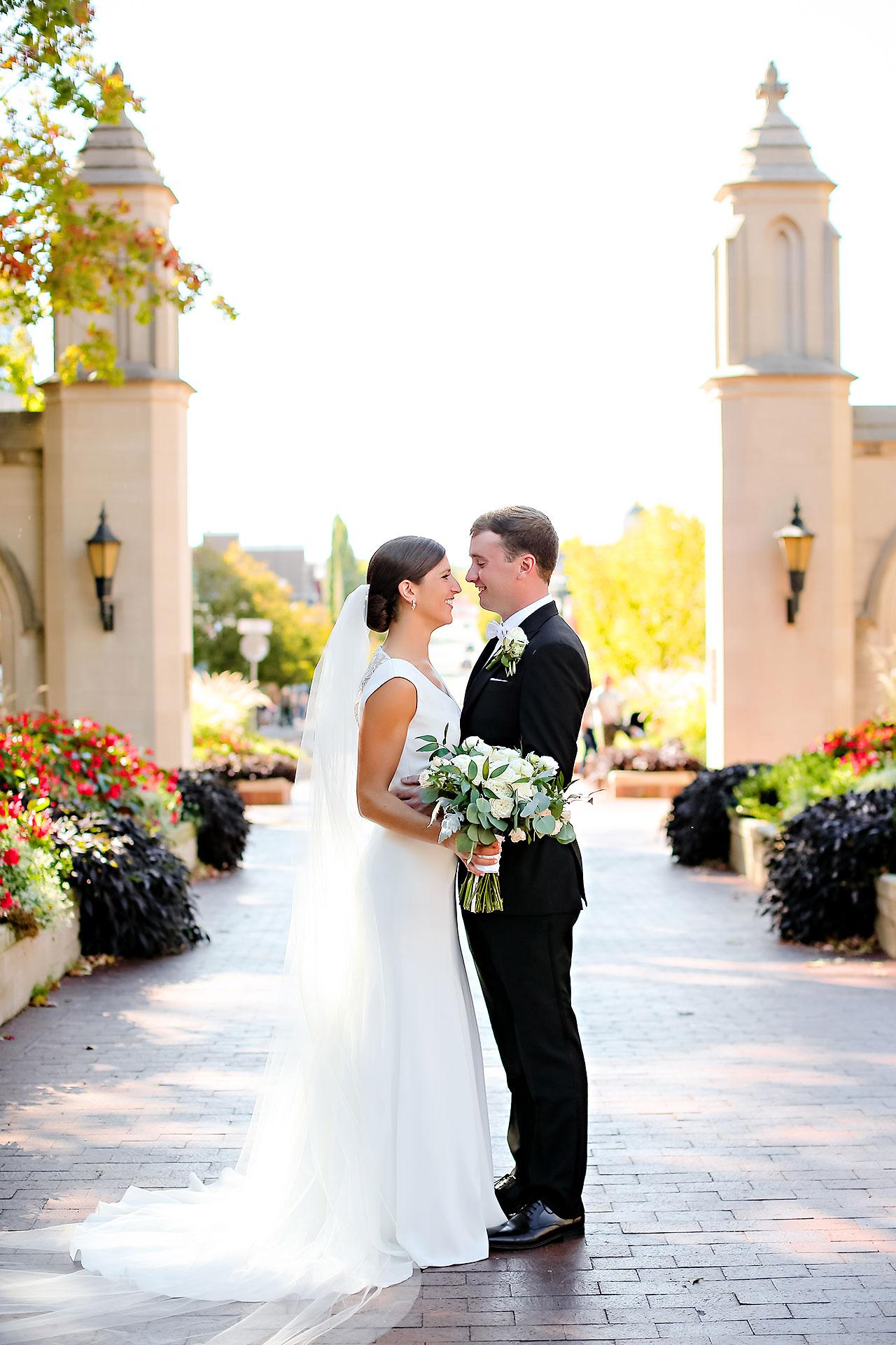 Emily Michael IU Wedding Alumni Hall 160