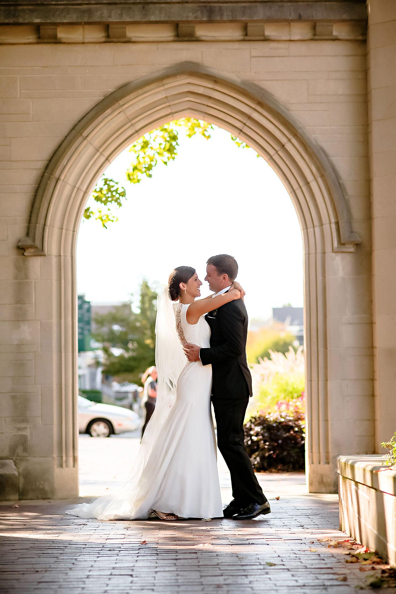 Emily Michael IU Wedding Alumni Hall 151