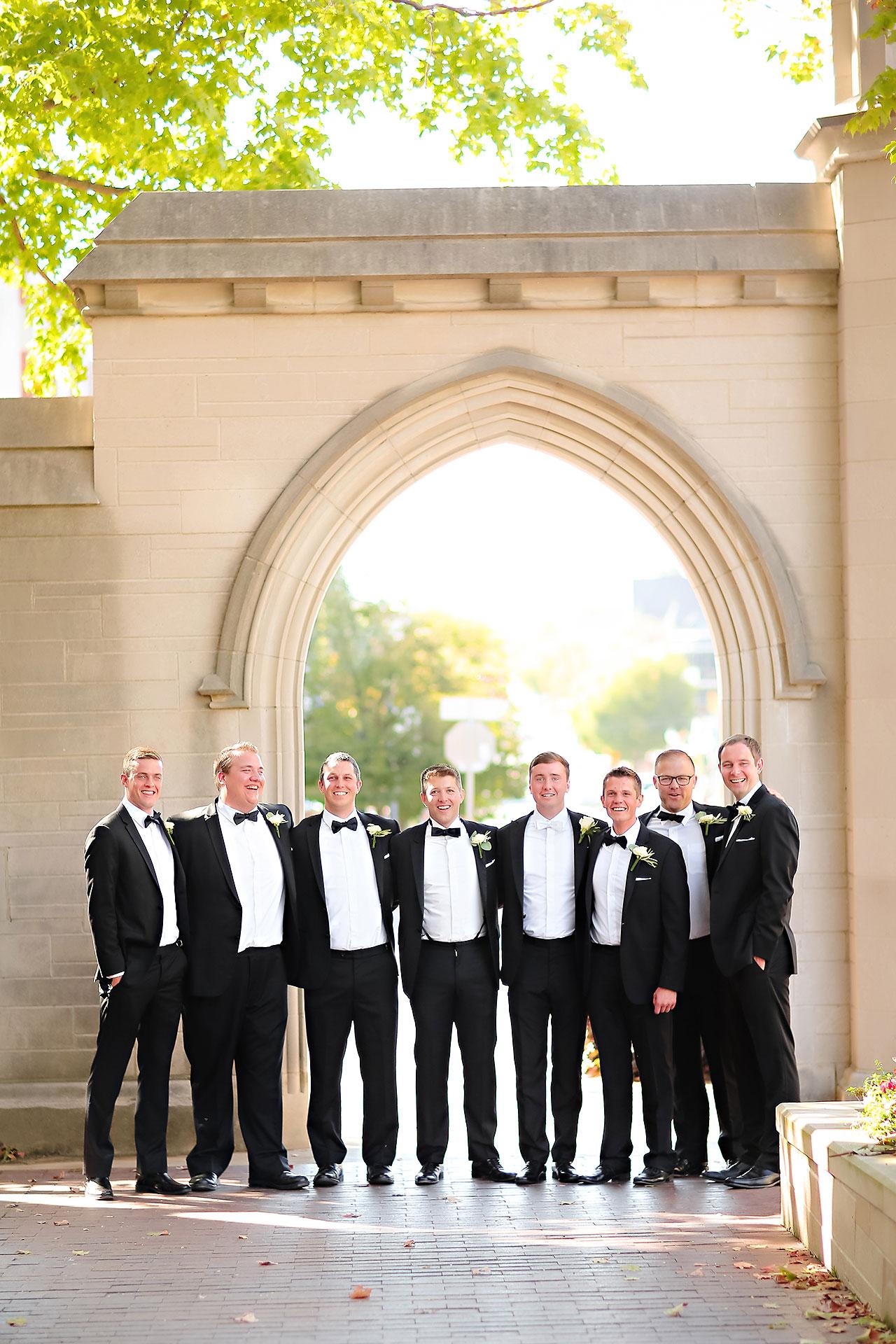 Emily Michael IU Wedding Alumni Hall 137
