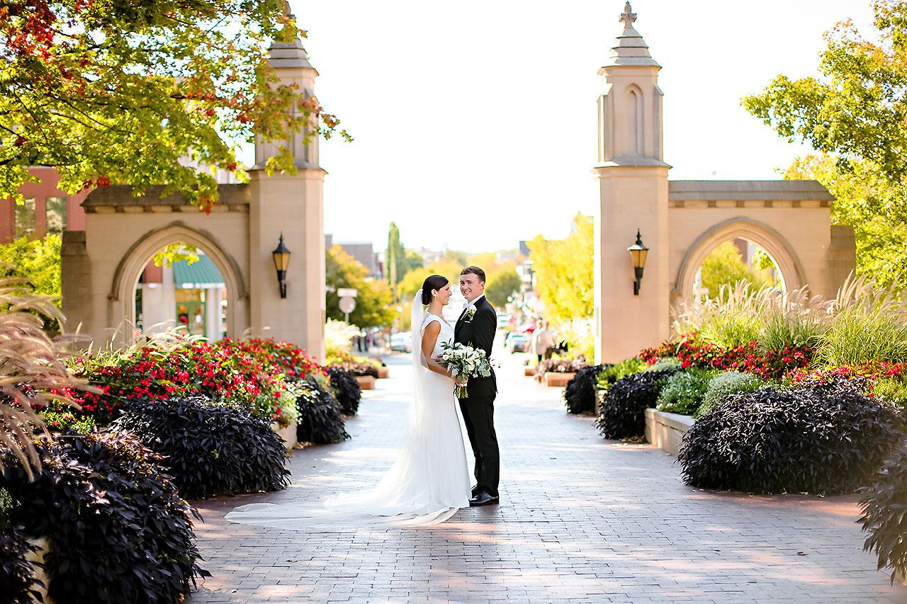 Emily Michael IU Wedding Alumni Hall 138