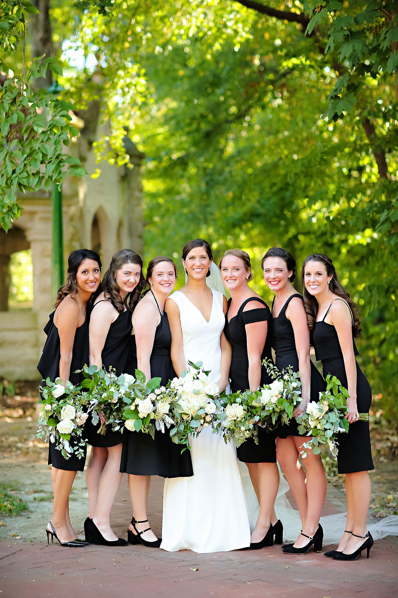 Emily Michael IU Wedding Alumni Hall 130