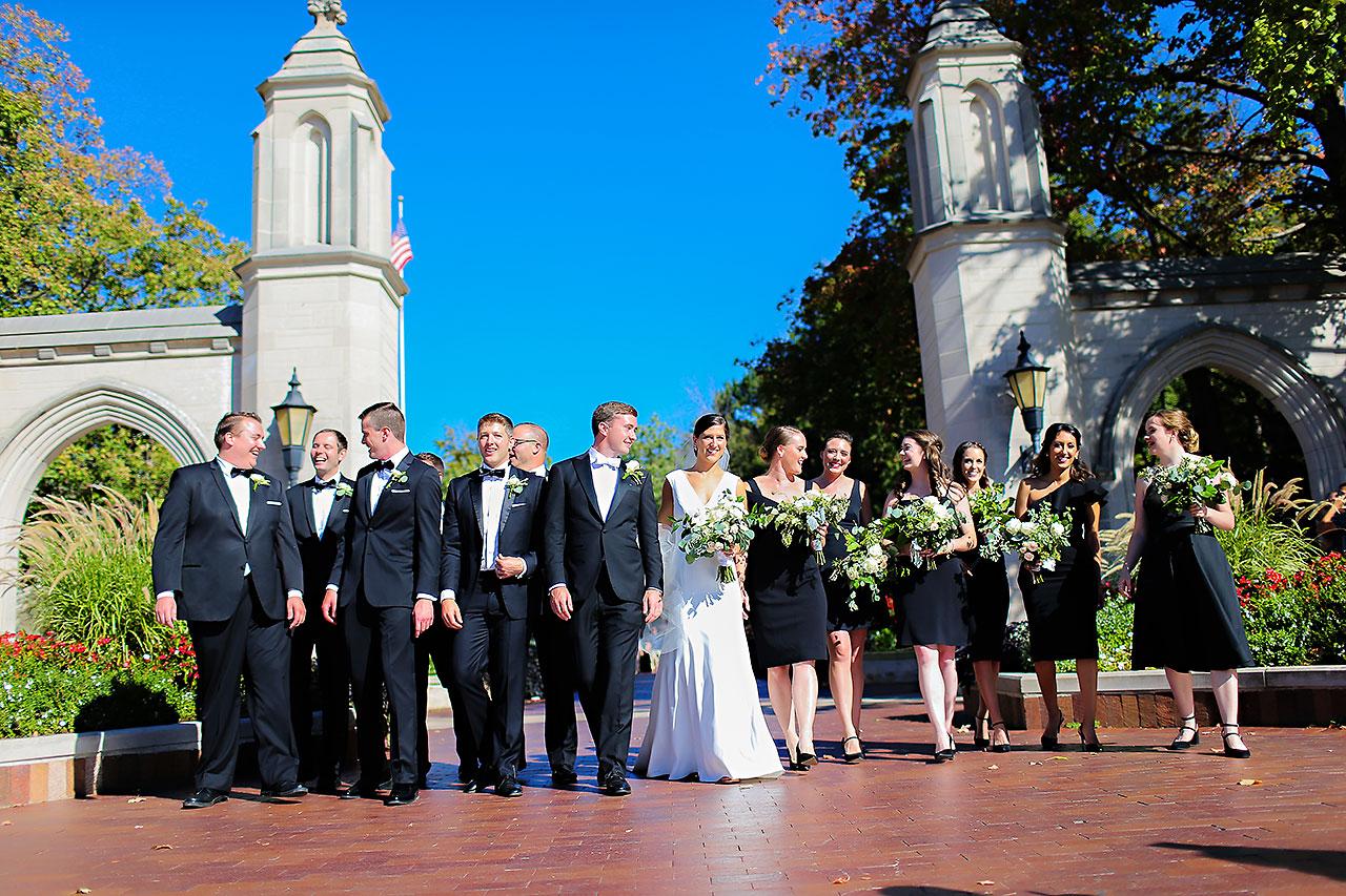 Emily Michael IU Wedding Alumni Hall 127
