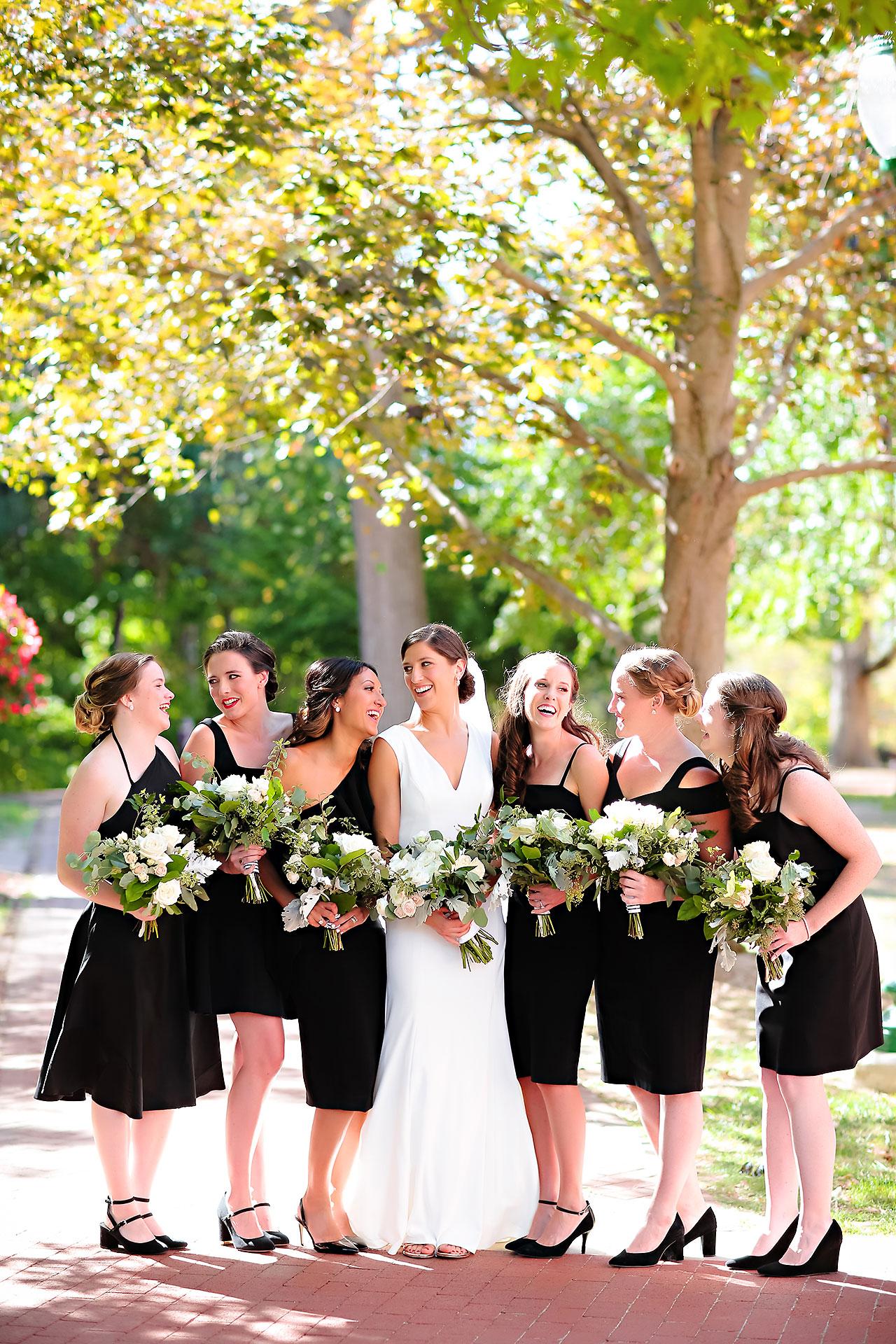 Emily Michael IU Wedding Alumni Hall 116