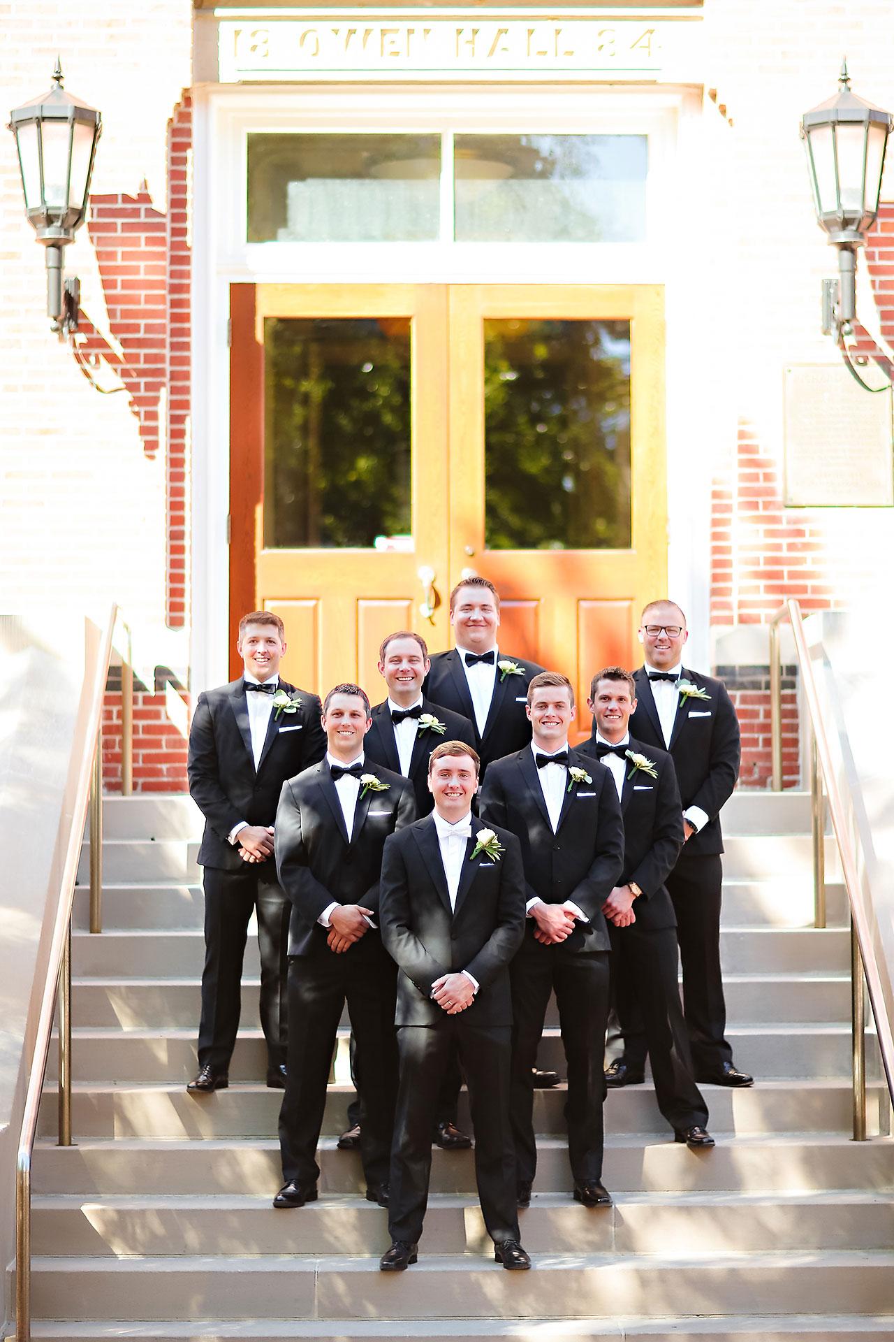 Emily Michael IU Wedding Alumni Hall 111