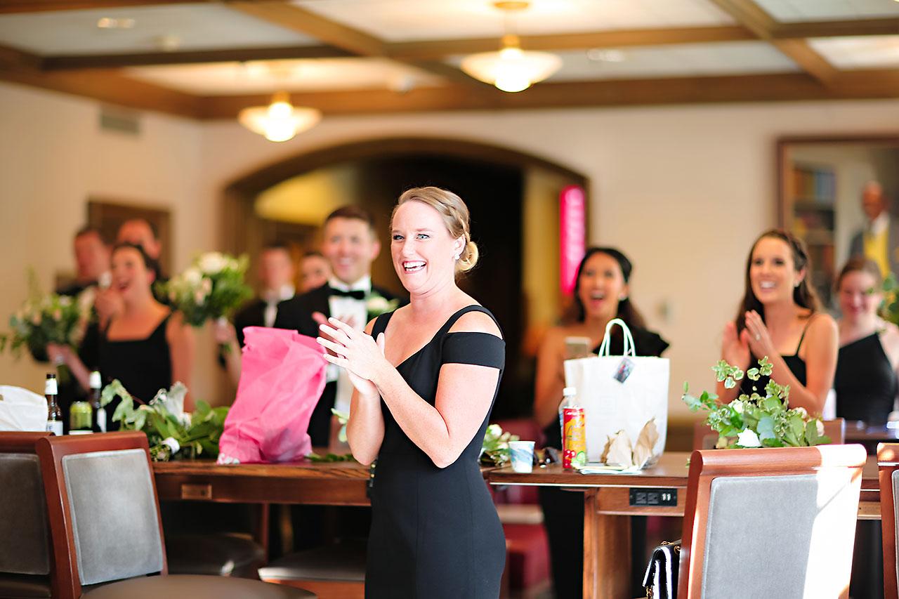 Emily Michael IU Wedding Alumni Hall 108