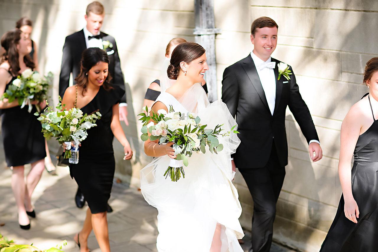 Emily Michael IU Wedding Alumni Hall 110