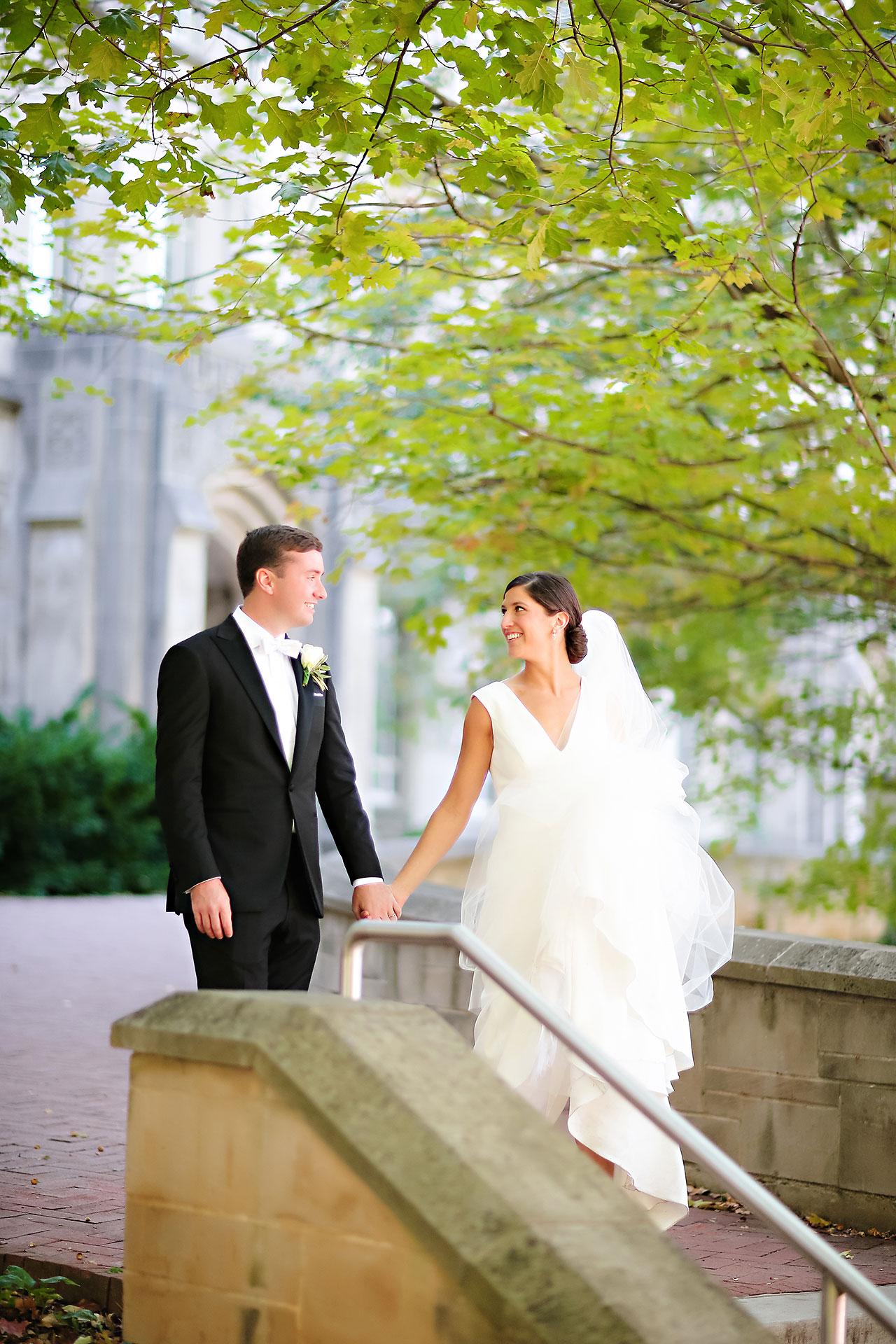 Emily Michael IU Wedding Alumni Hall 106