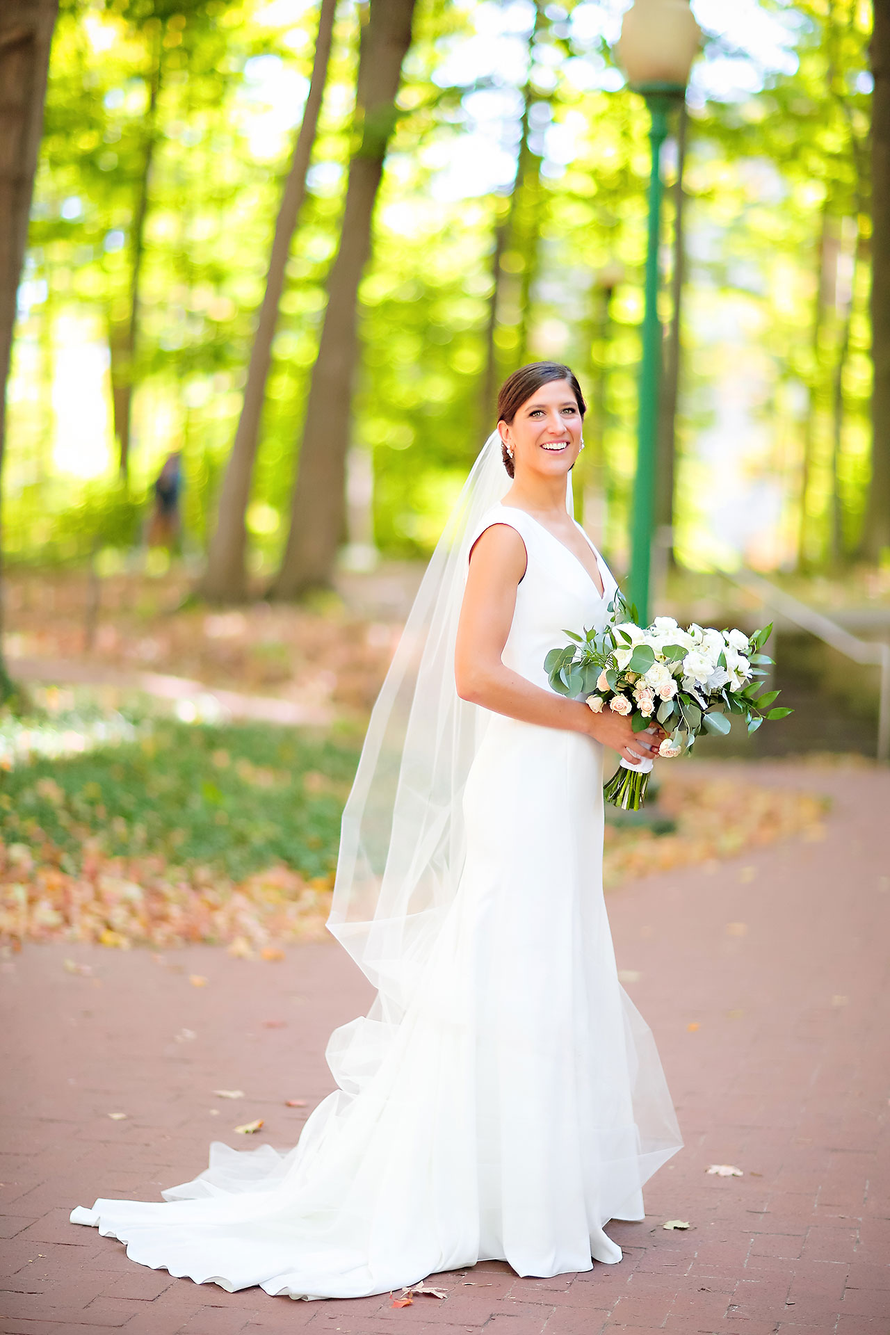 Emily Michael IU Wedding Alumni Hall 105
