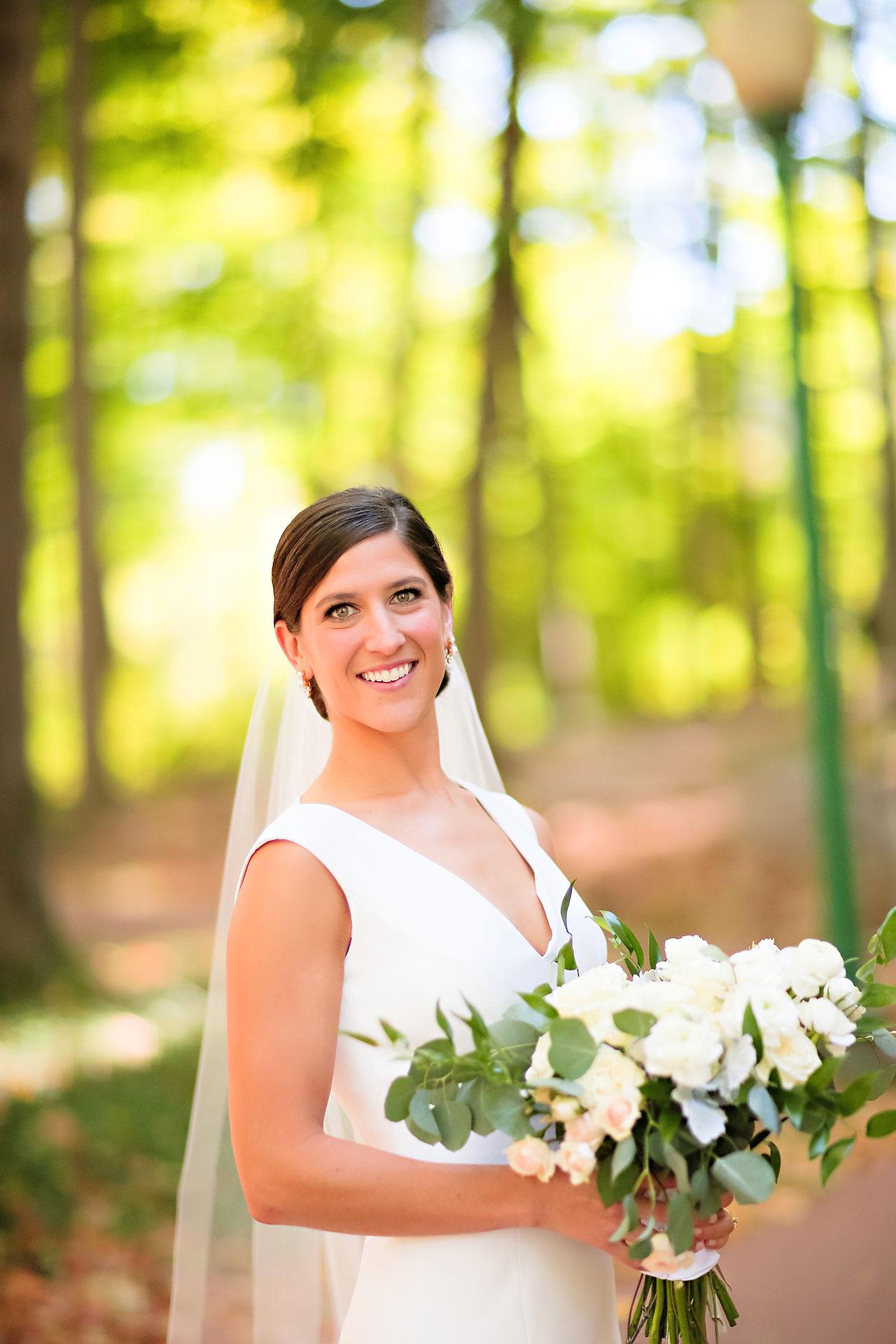 Emily Michael IU Wedding Alumni Hall 101