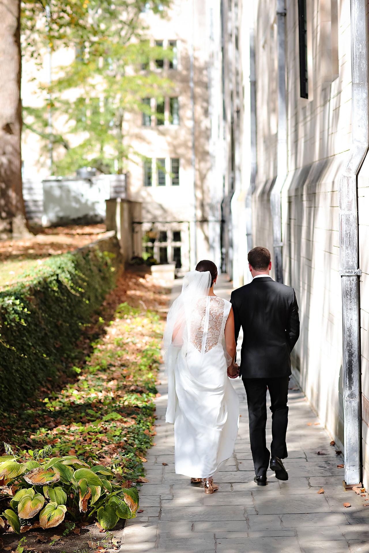 Emily Michael IU Wedding Alumni Hall 102