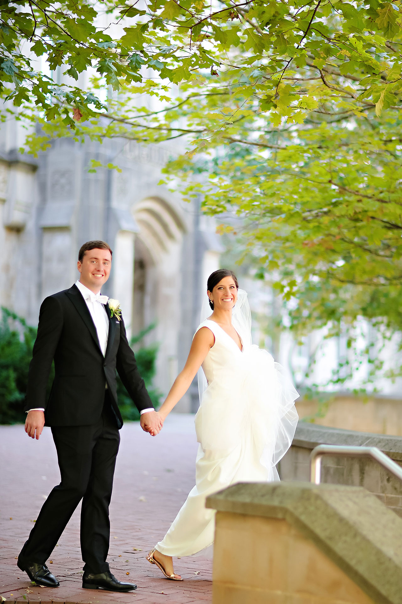 Emily Michael IU Wedding Alumni Hall 085