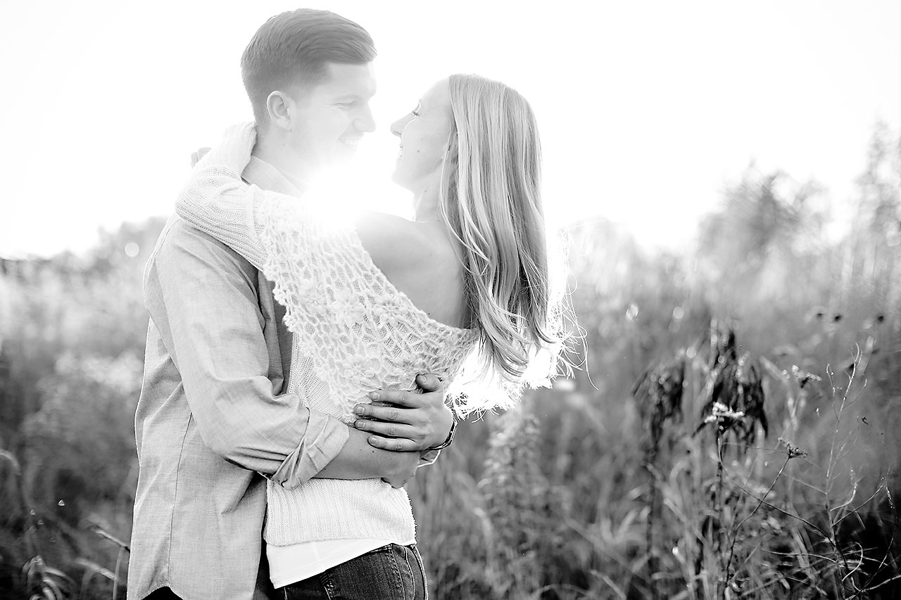 Molly Declan Zionsville Engagement Session 134