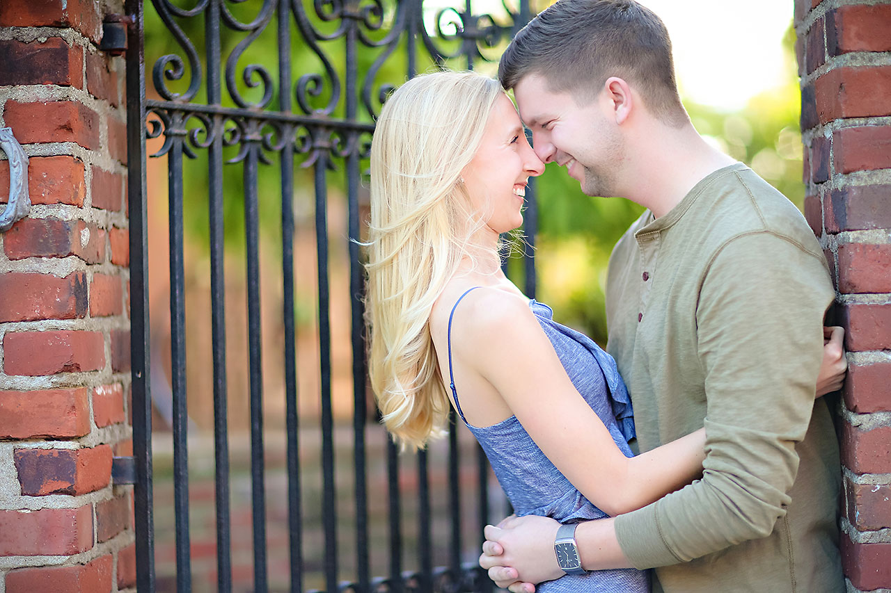 Molly Declan Zionsville Engagement Session 115