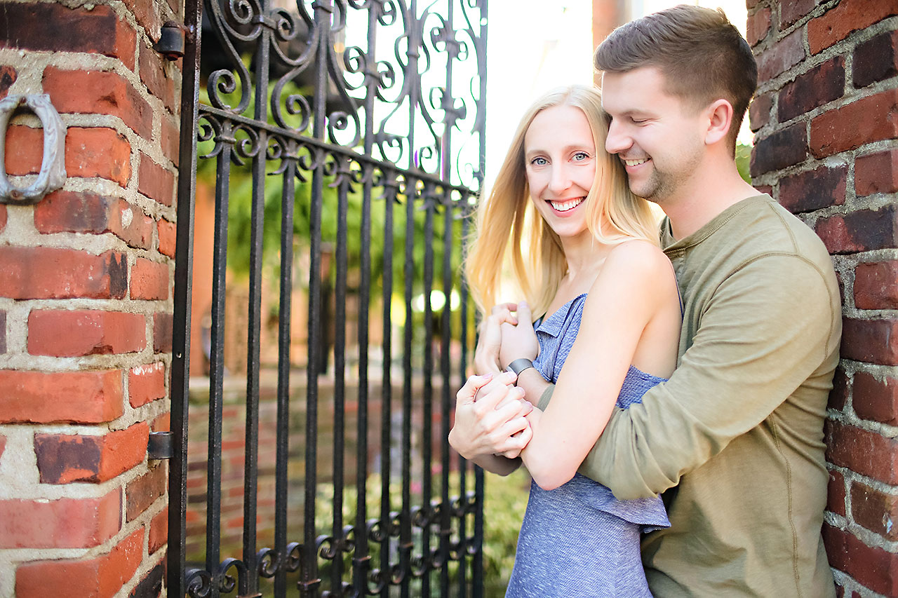 Molly Declan Zionsville Engagement Session 102